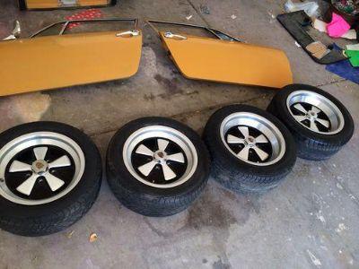 Find Porsche Fuchs Rims & Wheels 16x7 911 912 930 944 951 motorcycle in Henderson, Nevada, US, for US $222.50