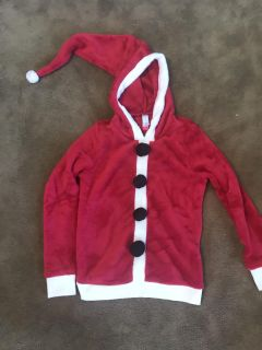 ~NO BOUNDARIES~ HOODED CHRISTMAS SWEATER SIZE SMALL