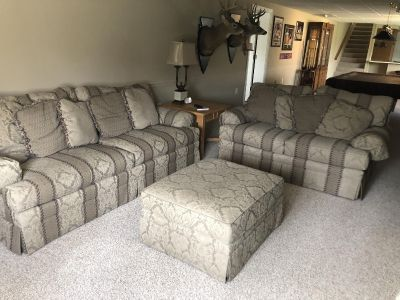 King Hickory Sofa, Loveseat and Ottoman