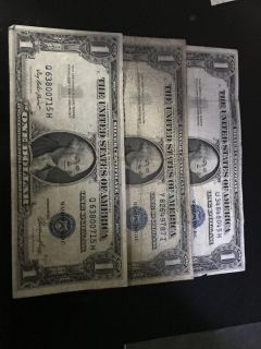 3-1935 silver certificates