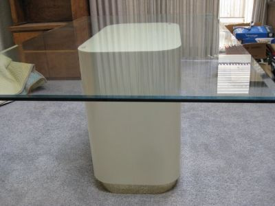 TABLE DINING ROOM GLASS TOP