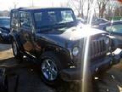Salvage 2016 JEEP WRANGLER SPORT for Sale