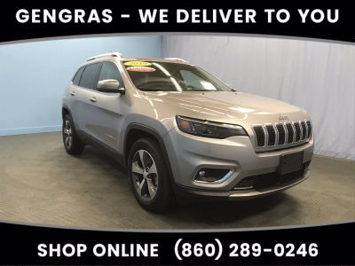 2019 Jeep Cherokee LIMITED 4X4 (Billet Silver Metallic Clearcoat)