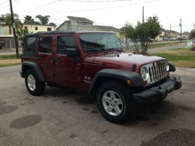2007 jeep wrangler 4dr 2wd