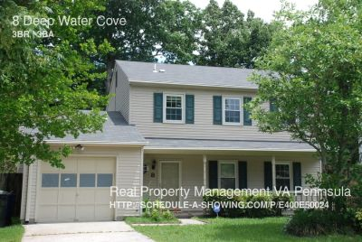 3 Bedroom, 2.5 bath house in Newport News-Bernard Village