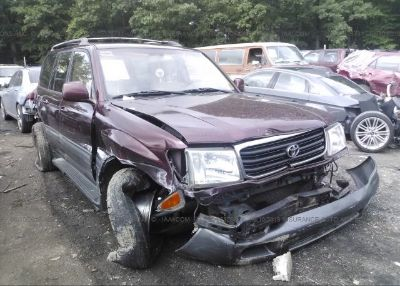 2001 Toyota LAND CRUISER