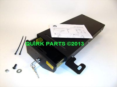 Buy 07-14 Jeep Wrangler 4-Door Security Lock Box Under Passenger Seat OEM NEW MOPAR motorcycle in Braintree, Massachusetts, US, for US $174.00