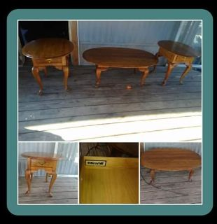 Broyhill Coffee and End Tables