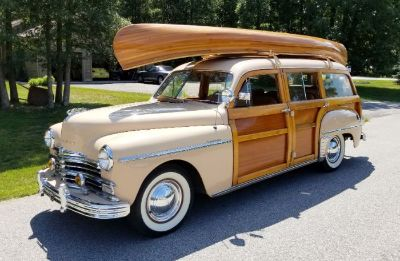 1949 Plymouth P18 Woody Wagon