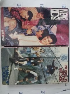 New Kids on the Block VHS Tapes