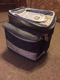 Wheeled Handled Insulated Cooler Bag