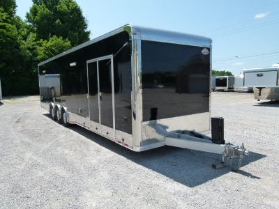 2018 34' all aluminum bath room trailer
