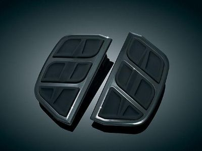 Sell KURYAKYN BLACK KINETIC TRADITIONAL PASSENGER FLOORBOARD INSERTS HARLEY TOURING motorcycle in Gambrills, Maryland, US, for US $72.42