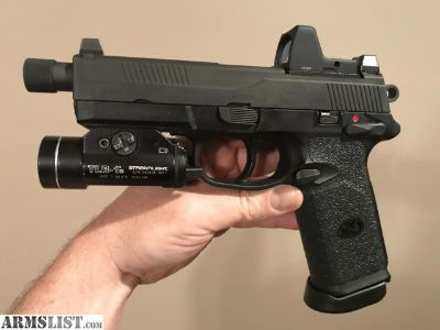 For Sale: FN FNX .45 Tactical w/ Trijicon RMR