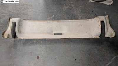Rear hatch hinge cover - up to 1966 Squareback