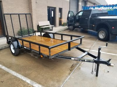 """10""""x5.5"""" carry-on pipe top Trailer >2,000lb load capacity"""