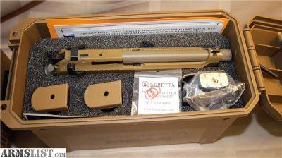 For Sale: New Beretta M9A3