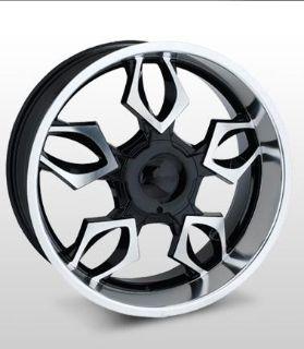 "Buy 18x8 Forte F36 ""Venom"" (Black Mirror) Wheel/Rim(s) 5x139.7 5-139.7 5x5.5 18-8 motorcycle in Cincinnati, Ohio, US, for US $172.00"