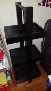 Set of 2, 3 tiered shelves