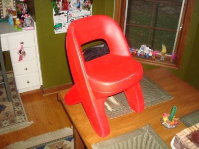 Step 2 Step2 Red Replacement chair for Kitchen, Table, Desk, Playhouse