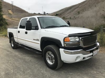 2006 GMC Sierra 2500 HD Duramax diesel Allison 6-speed trans