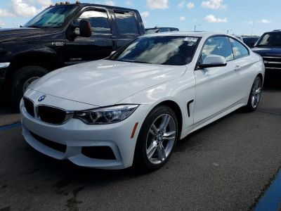 2015 BMW 4 Series 2dr Cpe 435i xDrive AWD (Alpine White)