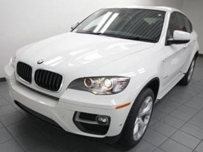 2014 BMW X6 35i (Alpine White)