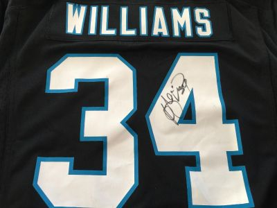 Deangelo Williams signed XL Jersey
