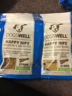 Dogs well happy hips chicken recipe strips with glucosamine and chondroitin