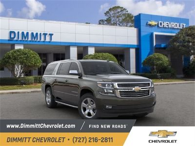 2019 Chevrolet Suburban LT 1500 (Green Metallic)