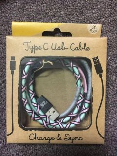 Brand new type c usb cable