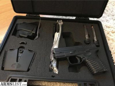 For Sale/Trade: LNIB Springfield Armory XDS 45ACP Package