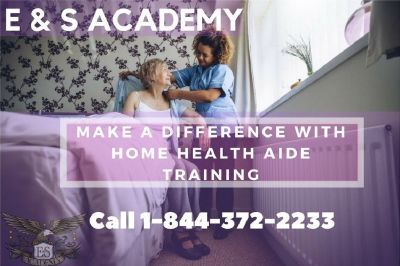 Sign up now for the 3 weeks home health aide class!