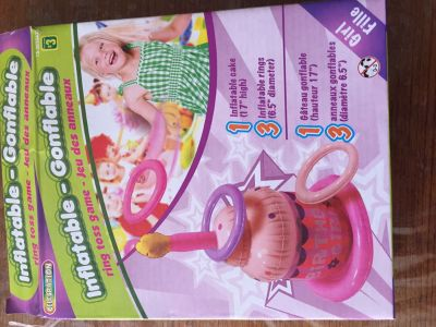 Free inflatable birthday ring toss