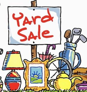 Yard sale today !!