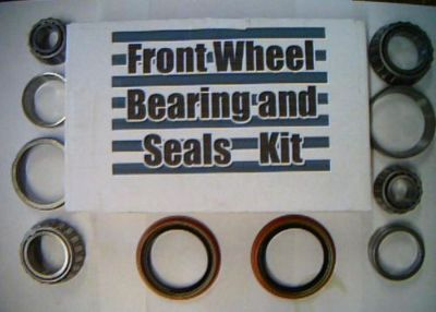 Sell 4 front wheel bearings & 2 seals AMC,Rambler 1961 to 84-replace these worn parts motorcycle in Duluth, Minnesota, United States