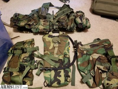 For Sale/Trade: Large Woodland camo bundle