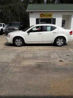 2008 Dodge Avenger SE (White)