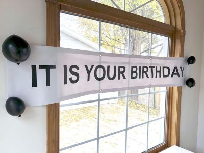 Vinyl Birthday Banner Inspired By The Office TV Show
