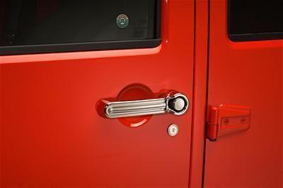 Find Putco 401055 Door Handle Covers (4 Door) w/ Tailgate Handle 2007 Wrangler JK motorcycle in Tallmadge, Ohio, US, for US $116.97
