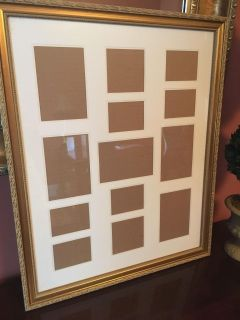 Framed Collage Picture Frame, 22x17.5!