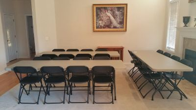 Table and Chair Rental for your Holiday Event or Special Occasion