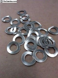 Stainless 6 MM Wave Washers