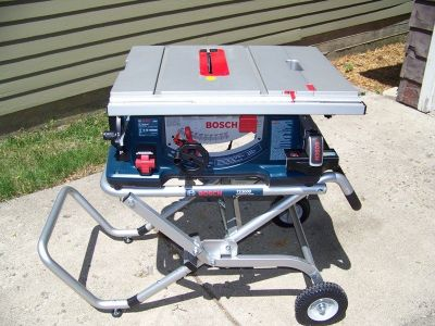 Bosch Table Saw w/ folding stand