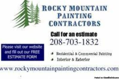Exterior Painting FREE ESTIMATES Rocky Mountain Painting