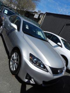 2012 Lexus IS 250 Base (Silver)