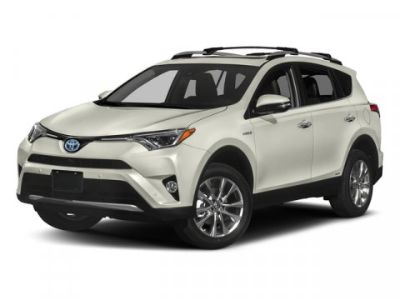 2018 Toyota RAV4 Hybrid Limited (Electric Storm Blue)