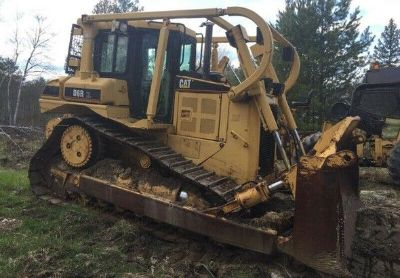 1999 Caterpillar D6r-Xl-Crawler-Tractor