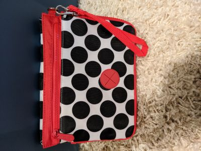 New! Thirty one expandable bag