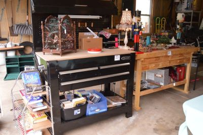 Metal Tool Project Work Bench